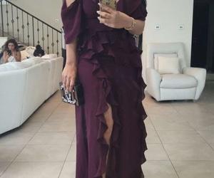 blogger, huda beauty, and dress image