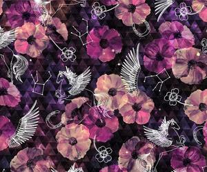 background, botanical, and constellation image