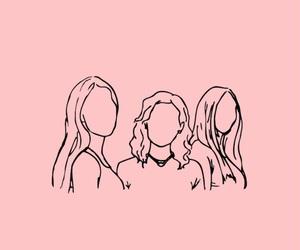 girls, wallpaper, and lockscreen image