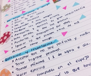 goals, handwriting, and inspiration image
