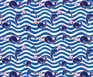 background, dolphin, and pattern image
