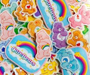 care bears, kawaii, and stickers image