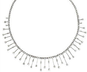 beauty, crystal, and necklace image