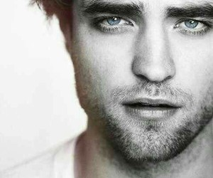 robert pattinson, eyes, and Hot image