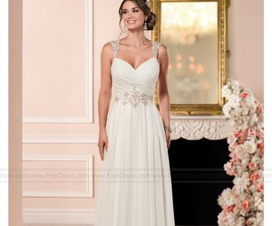 fashion, women, and bridalgowns image