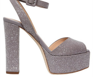 disco, platforms, and glitter shoes image