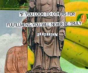 quote, Buddha, and fulfillment image