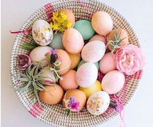 eggs, easter, and colorful image