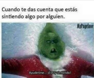 sentir, grinch, and ​amor image