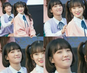 funny moment, binnie, and choi yewon image