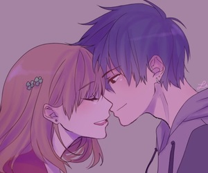 anime couples, tokyo ghoul, and hinami fueguchi image