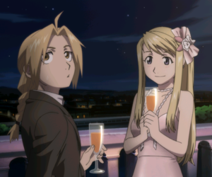 fullmetal alchemist, edward elric, and winry rockbell image