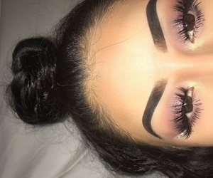 creative, eyelashes, and mua  image
