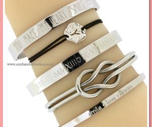 bangle, infinity bracelet, and double infinity image