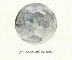 Lyrics, one direction, and moon image