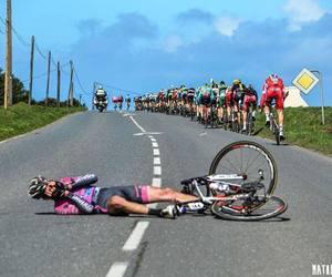crash, cycling, and keep strong image