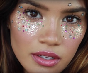 coachella, festival, and makeup image