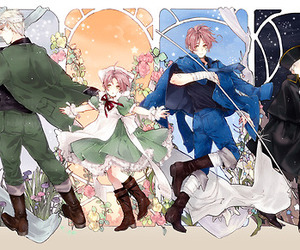 hetalia, chibitalia, and germany image