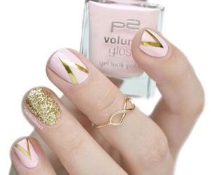 fashion, nail polish, and pedicure image