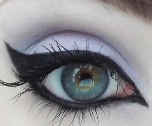eye, eyeshadow, and lavender image