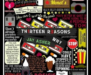 13 reasons why, book, and thirteen reasons why image