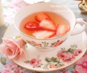strawberry and tea image