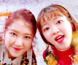 coloring book, yooa, and oh my girl image