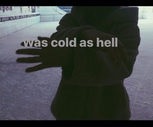 heart, cold, and hell image