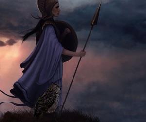 athena, goddess, and greek image