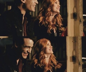 clary fray, simon lewis, and climon image