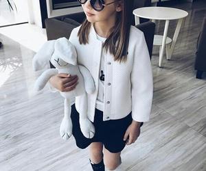kids, baby, and girl image