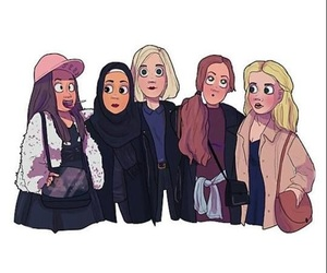 skam, noora, and vilde image