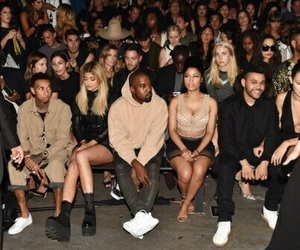 tyga, kylie jenner, and kanye west image