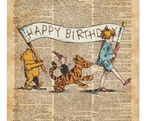 birthday, b'day, and disney image