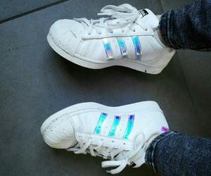 addidas, shiny, and shoes image