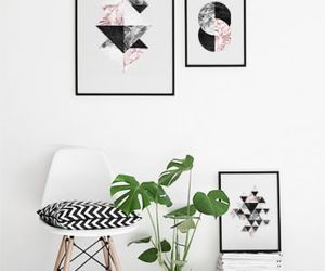 apartment, black and white, and chic image