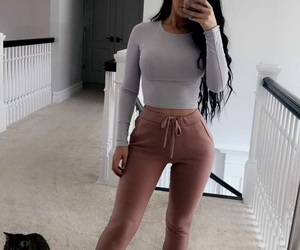 clothes, carli bybel, and body goals image