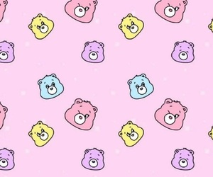 background, bear, and colorful image