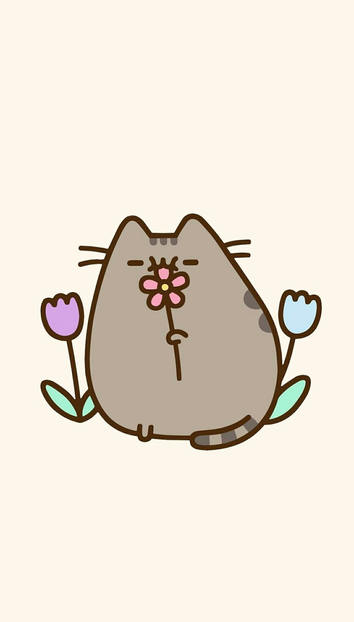 Animals Art Background Beautiful Beauty Cartoon Cats Cute Animals Design Drawing Illustration Kawaii Kitty Pastel Wallpapers We Heart It Cute Cats Wallpaper Iphone Art Cat Beautiful Art Pastel Color Yellow Background Pastel