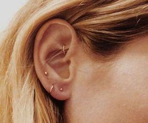 alternative, earrings, and blonde image