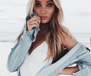 model, elsa hosk, and blonde image