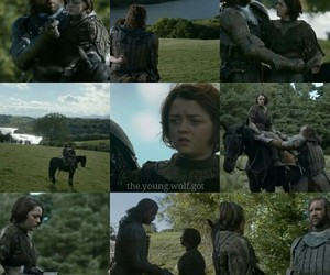 winter is coming, arya stark, and the hound image