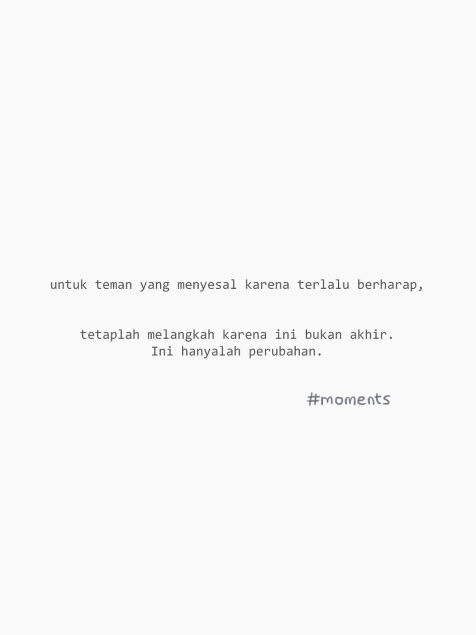 quotes on bahasa from webtoon the tittle is moments i