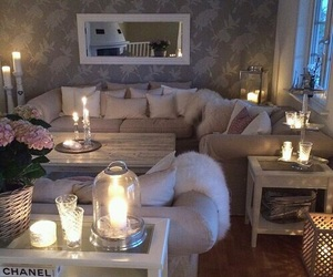 architecture, candles, and chanel image