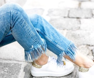 fashion, jeans, and pretty image