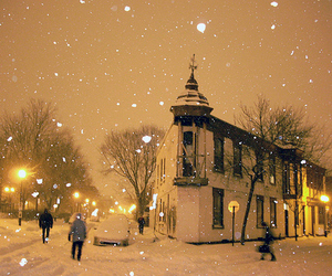 winter and Kirche image
