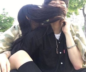 couple, ulzzang, and ulzzang couple image