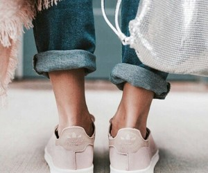 beige, casual, and jeans image