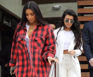 kim kardashian, kourtney kardashian, and style image