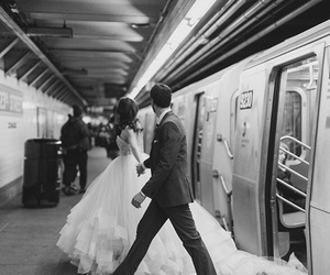 just married, train station, and fgb image